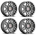Genuine Toyota 4Runner TRD PRO Matte Gray Wheels PTR20-35110-GR (Fits:...