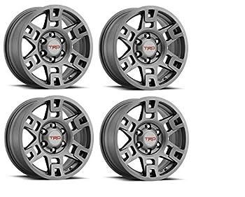 Genuine Toyota 4Runner TRD PRO Matte Gray Wheels PTR20-35110-GR  Fits  4Runner - Tacoma - FJ Cruiser   4
