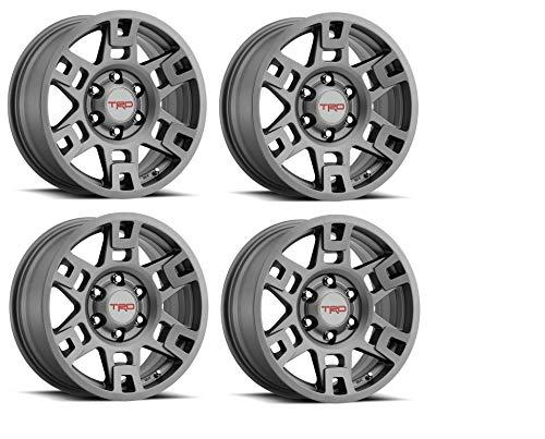 Genuine Toyota 4Runner TRD PRO Matte Gray Wheels PTR20-35110-GR (Fits: 4Runner - Tacoma - FJ Cruiser) (4)