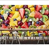 Zybnb Ensaladas De Frutas Berry Muchos Kiwis Comida Foto Papel De Pared, Sala Cocina Restaurante Comida Rápida Tienda Cafetería Mural