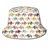 Jupsero Sombrero de Pescador Unisex Bucket Hat,Moisture Wicking Fabric,UV Sun Protection - Animal Print Tiger Black Gold