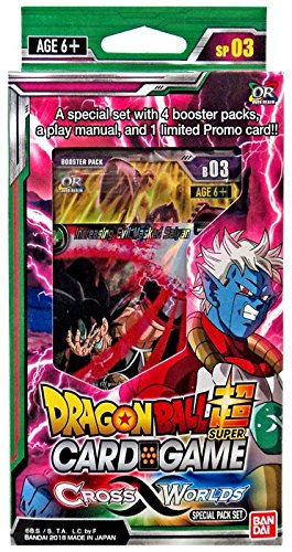 Dragon Ball Z Super Galactic Battle TCG Special Pack Set SHIPS SAME DAY!!!!!!!