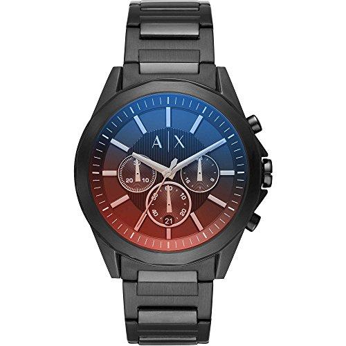 Armani Exchange Reloj Cronógrafo para Hombre de Cuarzo con Correa en Acero Inoxidable AX2615