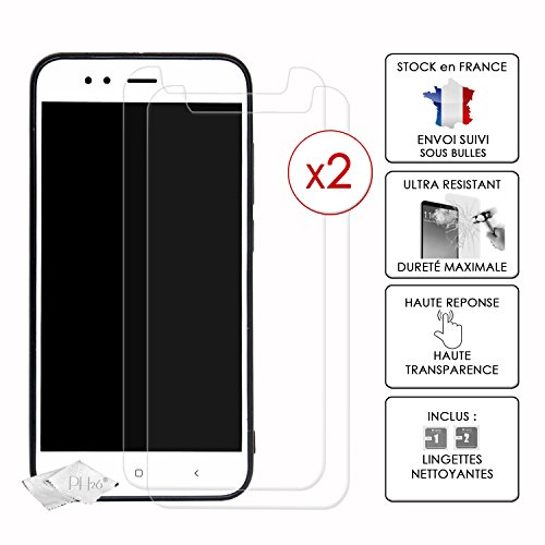 Pack of 2 High Transparency Tempered Glass Screen Protectors for Lenovo K12 Note, Ultra Resistant (Maximum Hardness), Ultra Slim, Anti-Fingerprint, Easy to Apply and Optimal Protection