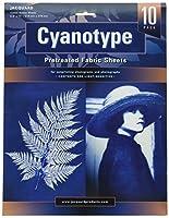 Jacquard Cyanotype Pretreat Fabric Shts 10Pk by Jacquard