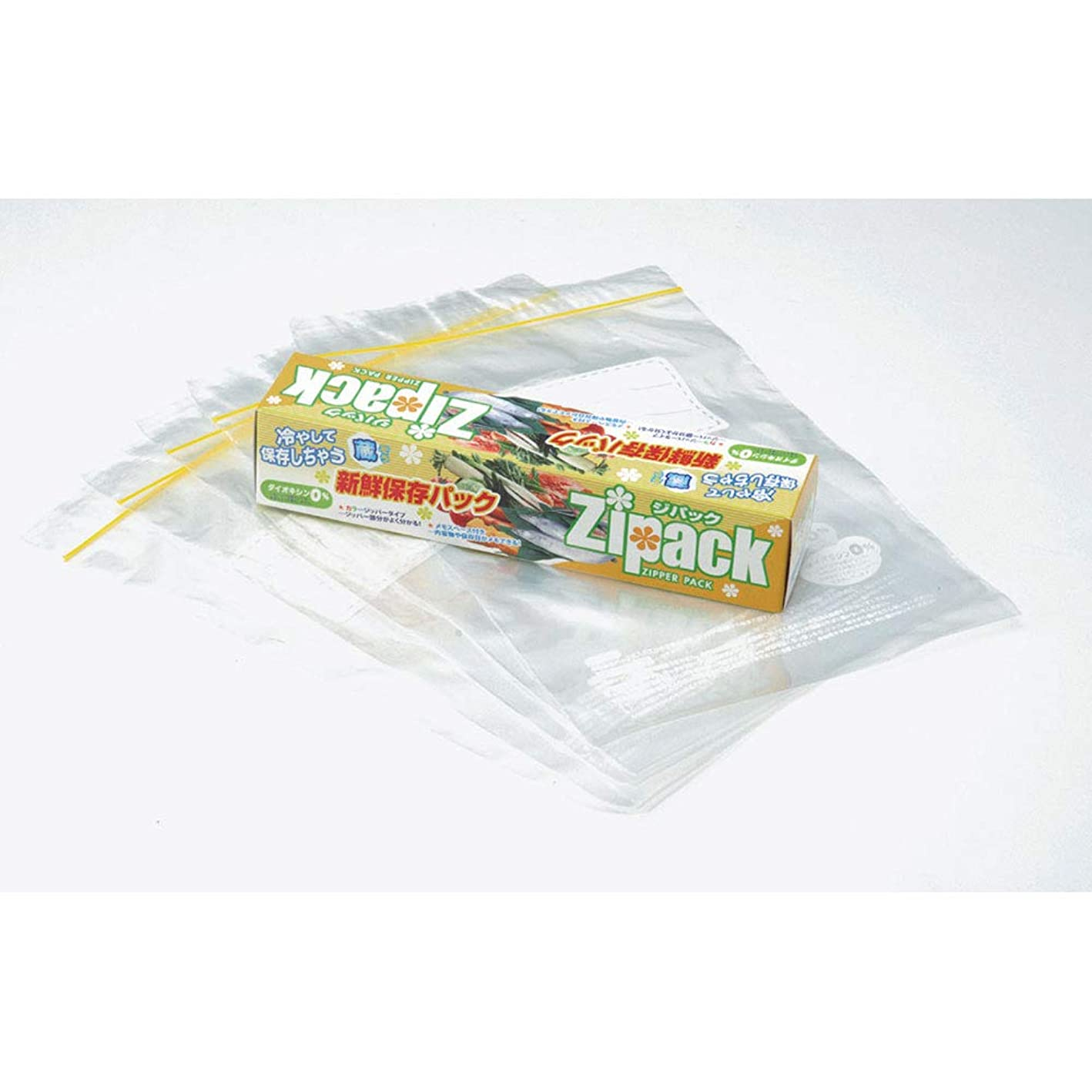 よく話されるゆるく豪華なキッチン雑貨 新鮮保存パック ジパック 5枚BOX