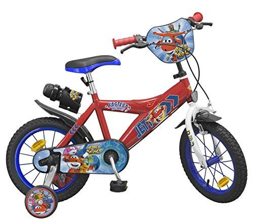 Toimsa–Super Wings Bicicletta per Bambini, 1443