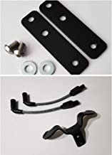 JBSporty Coil and Ignition Relocation Bracket w/Taylor Wires and Tank lift Kit Harley Davidson Sportster, Nightster, 72, 48 Iron Roadster 883 1200 (Gray)