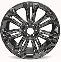 Road Ready Car Wheel For 2015-2018 Cadillac Escalade 2014-2018 GMC Sierra 1500 Chevrolet Silverado 1500 22 Inch 6 Lug Chrome Rim Fits R22 Tire - Exact OEM Replacement - Full-Size Spare