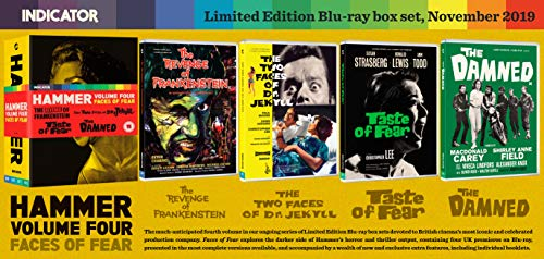 Hammer Volume Four: Faces of Fear [Blu-ray] [2019] [Region Free]