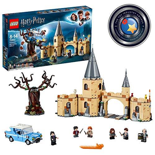 LEGO Harry Potter - Sauce Boxeador de Hogwarts, Juguete de Construccion del Mundo Magico con Minifiguras de Harry Potter, Ron Weasley, Hermione Granger, Severus Snape y Otros Personajes (75953)