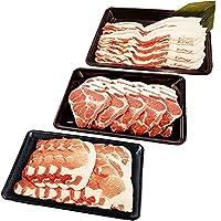 ギフト 山原豚(琉美豚) ≪白豚≫ ロース 肩ロース バラ しゃぶしゃぶ用 各500g フレッシュミートがなは 赤身が多く高タンパク 脂身が甘く低カロリーな沖縄県産豚肉