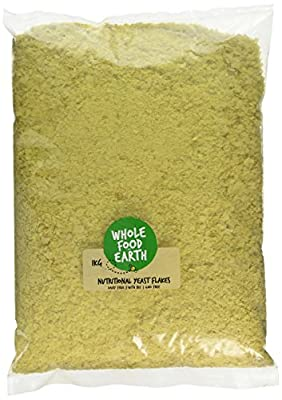 Wholefood Earth Nutritional Yeast Flakes, 1 kg, With B12, Dairy Free, GMO Free, Vegan