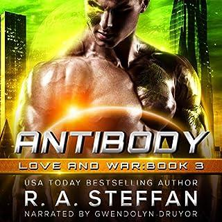 Antibody audiobook cover art