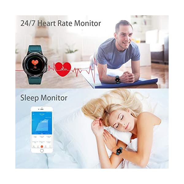 Blackview Smartwatch,Reloj Inteligentes Deportivo Fitness Tracker Hombre Mujer,Impermeable 5ATM Pulsera de Actividad… 4