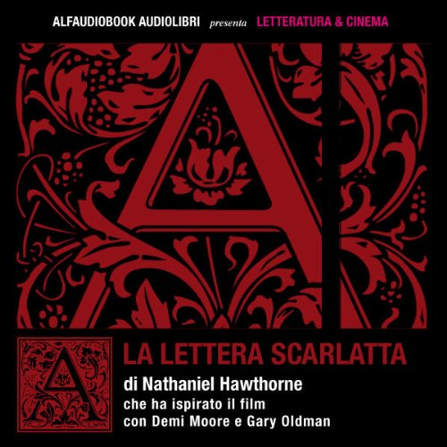 La lettera scarlatta audiobook cover art