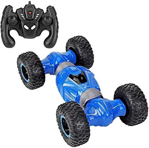 Control remoto Coche, control remoto para niños Control remoto de automóviles, juguetes para niños RC Off-Road Stunt Coche con doble lado 4WD Transformando Camión Radio Controlado Vehiclechildren