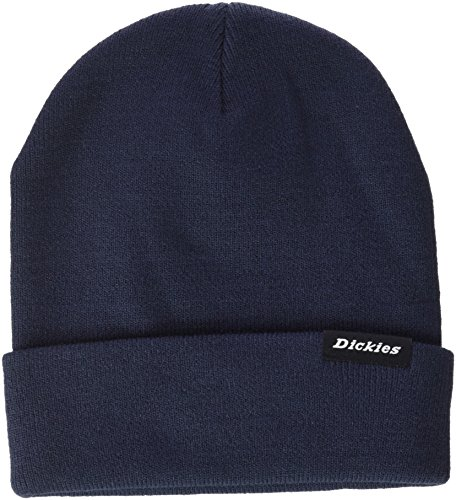 Dickies Streetwear Cap Alaska Gorro de Punto, Azul (Navy Blue NV), One Size (Tamaño del Fabricante:One Size) Unisex Adulto