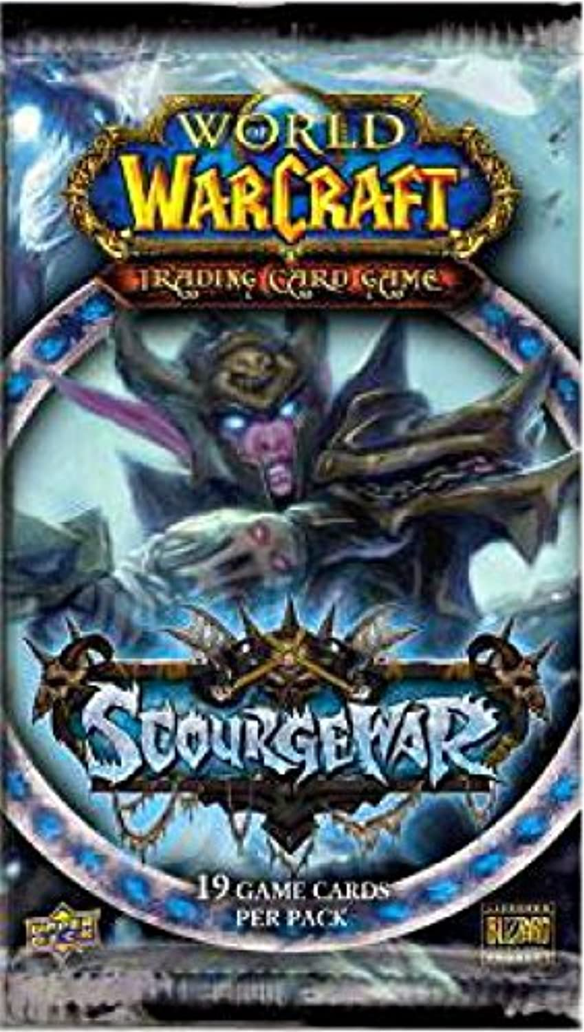 Warcraft of World TCG Trading [Toy] Pack Booster Scourgewar