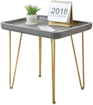 c66b483346b9e XIAOYAN End Table Nordic Wrought Iron Small Coffee Table Imitation Cement  Balcony Table Living Room Side