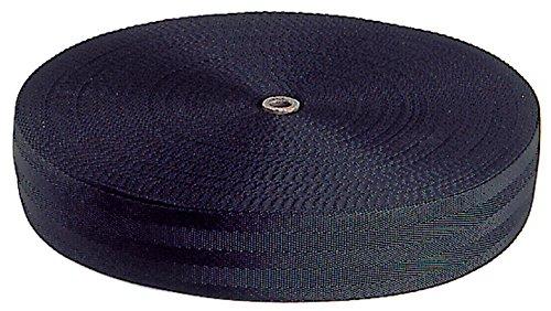 Optiparts - Cinghia Puntapiedi 50mm. Nera (Rotolo 50 M.) OP-1464