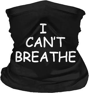 I Cant Breathe Face Mask, George Floyd I can't Breathe Hoodie, Tubular Bandana Neck Gaiter For Men And Women