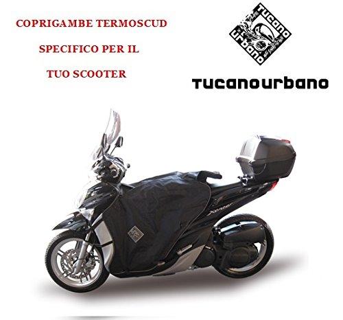 TERMOSCUD TUCANO URBANO SPECIFICO R090-X COPRIGAMBE PER MBK OCEO 125 DAL 2012 / YAMAHA XENTER 125/150 DAL 2012 IMPERMEABILE