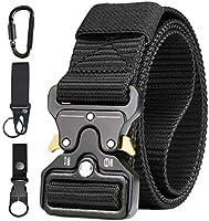AivaToba Cintura Tattica Uomo Heavy Duty Nylon Cintura Cobra Militare Esercito con Fibbia in Metallo a Sgancio Rapido...