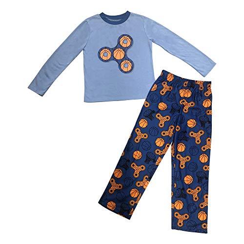 Basketball Fidget Spinner Camo Pajama Set (XS)