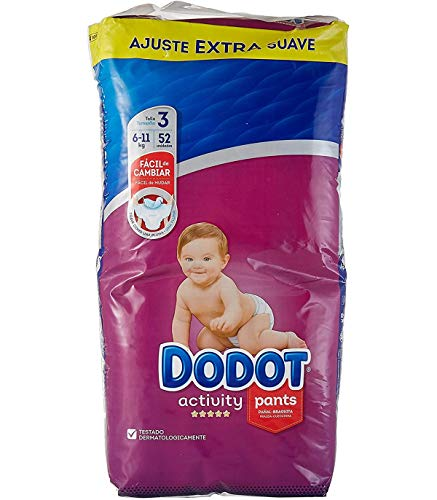 Dodot Pants Activity Extra T3 52u