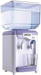 Jocca Distributeur d'eau avec Réservoir, Blanc/Violet, 24.5 x 23 x 34 cm
