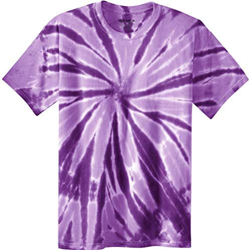 Koloa Surf Co.Colorful Tie-Dye T-Shirt,M-Purple