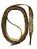 takestop® Cordones cordón Glitter con Brillos 120...