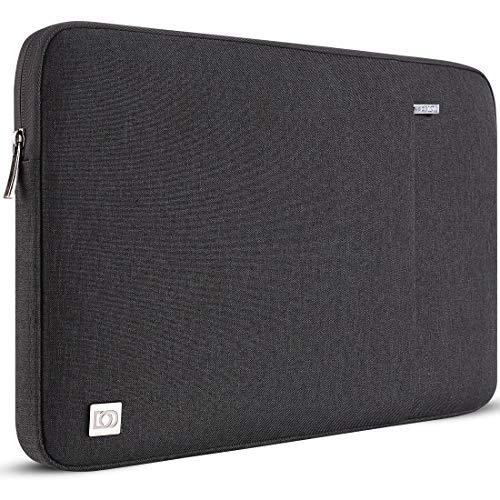 DOMISO 14 Pulgada Funda para portátil Bolsa de Transporte para de 14' Lenovo Chromebook S330/ThinkPad A475 A485 E485 T480s/HP ProBook 640 645 G4/DELL Inspiron 5480 5481 5482 5490 Chromebook 14, Negro