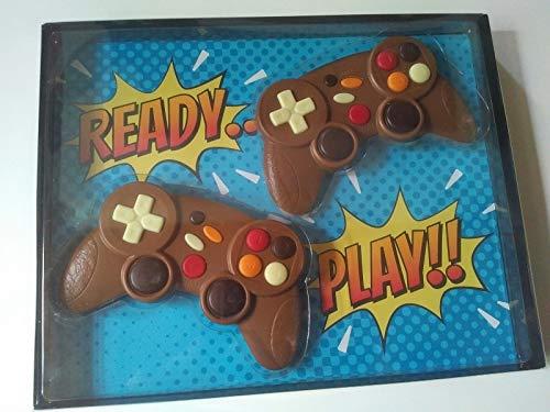 Weibler Confiserie Geschenkpackung Doppel Game Controller Schokolade