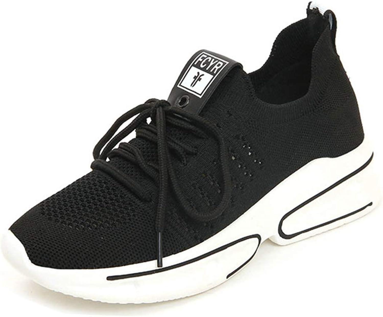 GIY Womens Wedge Platform Sneaker High Top Mesh Casual Lace up Slip On Athletic Sports Walking Sneaker