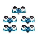 DollaTek 5Pcs HC-SR04+ Sensor de Distancia por módulo ultrasónico para Arduino UNO MEGA2560 Nano Robot XBee ZigBee