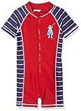 Playshoes Jungen UV-Schutz Einteiler Taucher Badeshorts, Rot (Rot 8), 122 (Herstellergröße: 122/128)