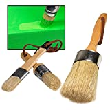 Best Chalk Brushes - Chalk Paint Brushes for Furniture- 3PC Large DIY Review
