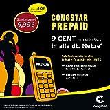Congstar Prepaid Karte inkl. 10 Euro Startguthaben -