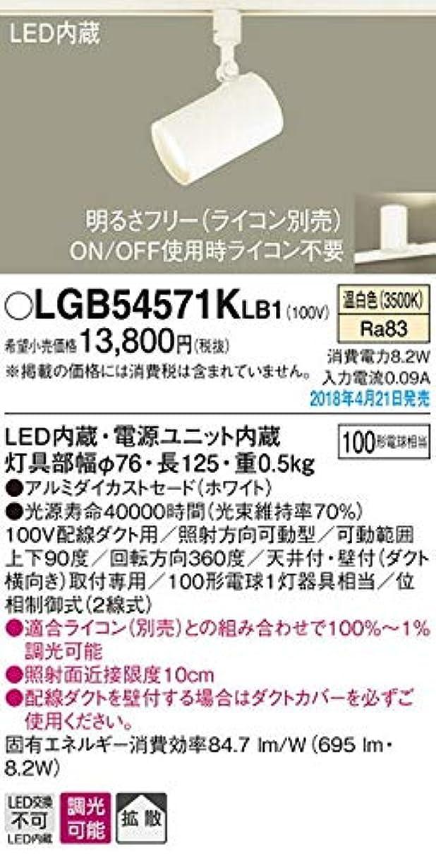 タイムリーな噂影響力のあるパナソニック スポットライト LGB54571KLB1 調光可能 温白色 ホワイト