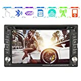 EINCAR Windows CE 6.0 1080P 6.2 Zoll TFT Touch-Screen-Funkempfänger USB-Autoradio GPS-Navigation FM AM PC System 2 Din SD In Dash Head Unit Auto-DVD-Player Video Bluetooth Audio Car Stereo...