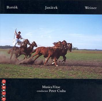 Bartok - Janacek - Weiner