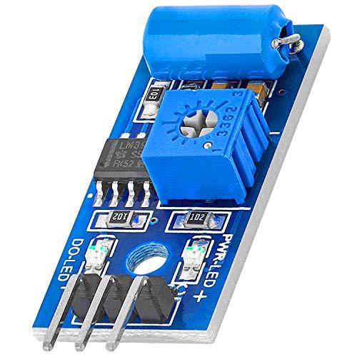 AZDelivery SW420 Vibration Shaker Sensor Module para Arduino con eBook incluido