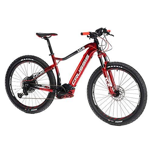 Crussis E-Atland 2021 - Bicicleta eléctrica (cuadro de 27,5', 36 V, 13,4 Ah, 482 Wh)