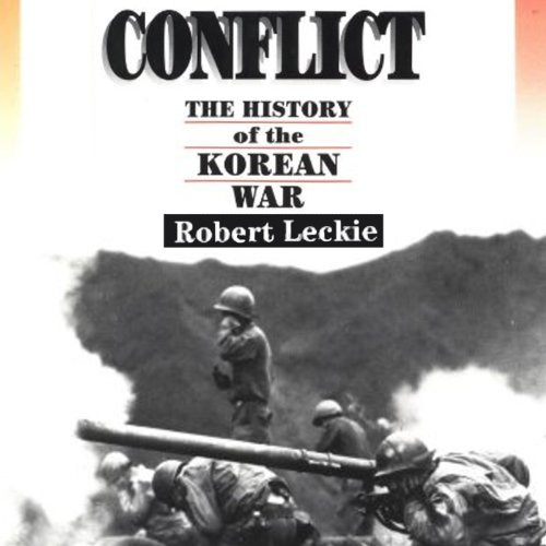 Conflict audiobook cover art
