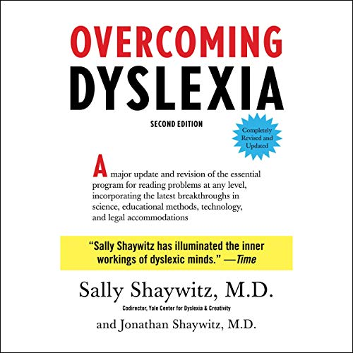 Overcoming Dyslexia audiobook cover art