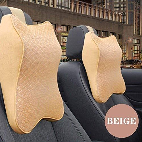 Coche cuello almohada de espuma de memoria Reposacabezas ajustable auto apoyo for la cabeza de la almohadilla del cuello del recorrido la ayuda del sostenedor del asiento del amortiguador de la almoha
