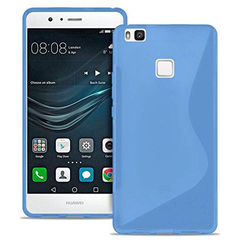 Estuche Ultra Delgado para Huawei P9 Lite El   En Azul   Funda De Línea S