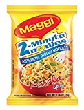 Maggi Masala 2-Minute Noodles India Snack - 5 Pack - 並行輸入品 -